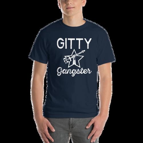 """""""Gitty Gangster"""" Men's Short-Sleeve T-Shirt (sizes up to 5XL)"""