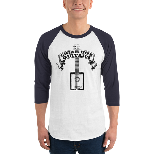 Cigar Box Guitars 3/4-sleeve Raglan Shirt