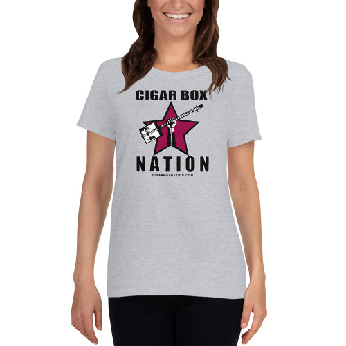 Cigar Box Nation Color Logo - Women's Short-sleeve T-shirt