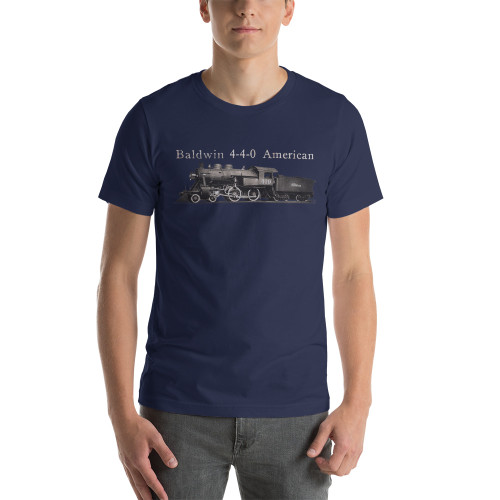 "Baldwin 4-4-0 ""American"" Steam Locomotive Train & Railroad Premium T-Shirt"