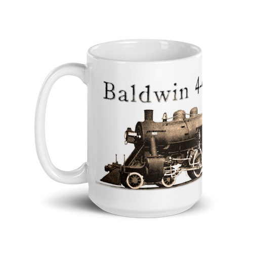 "Baldwin 4-4-0 ""American"" Steam Locomotive Train & Railroad Coffee Mug"