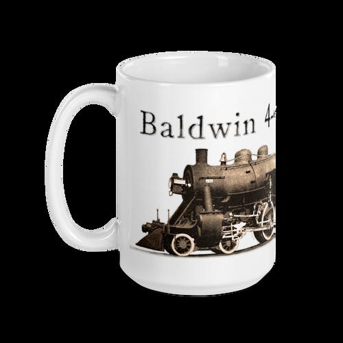 "Baldwin 4-4-0 ""American"" Steam Locomotive Train & Railroad Coffee Mug"