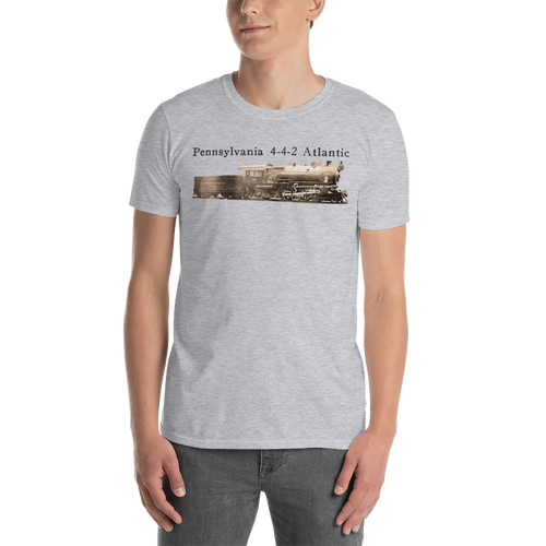Pennsylvania 4-4-2 Atlantic Steam Locomotive T-Shirt