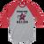 Cigar Box Naztion Color Logo - 3/4-sleeve Raglan Shirt