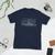 0-6-0 Switcher Philadelphia & Reading Steam Locomotive T-Shirt (White Printing on Dark Fabric)