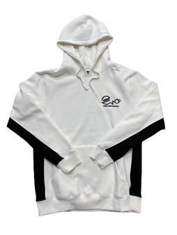Endless Supply Color Block Hoodie White/Black
