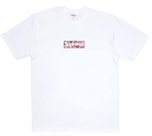 Supreme x Takashi Murakami COVID-19 Relief Box Logo Tee