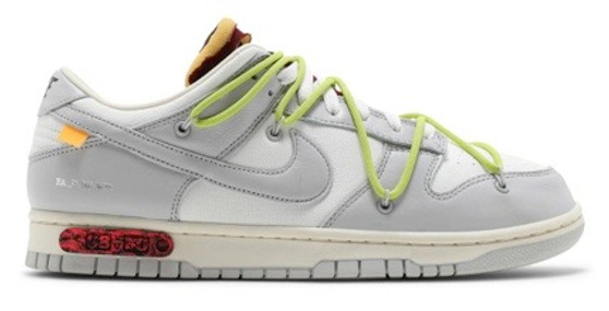 Off White Dunk Lot 8