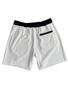 "Endless Supply Velour Shorts White/Black ""F&F"""