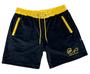 Endless Supply Velour Shorts Black/Gold