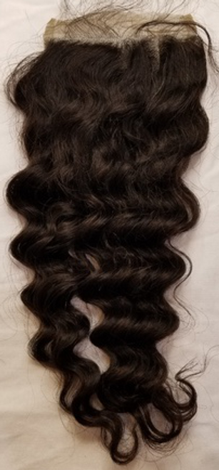 Malaysian Curly Free Part Closure(HD)
