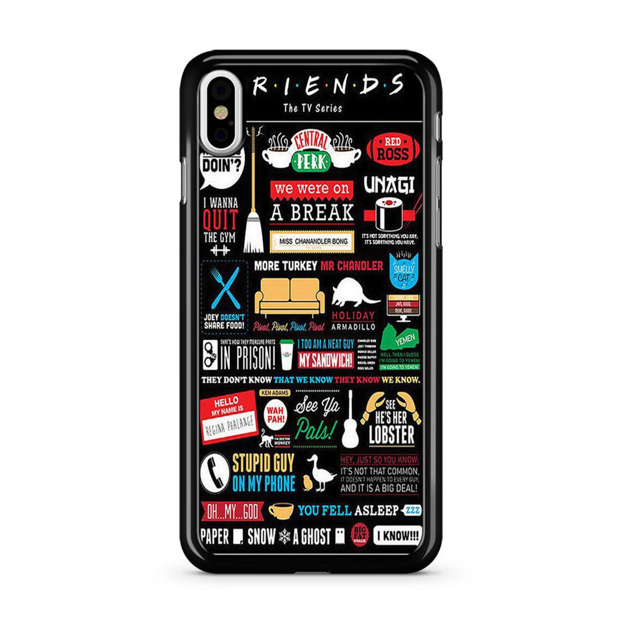 sale retailer b7f09 955c8 Friends TV Show iPhone XS Max Case