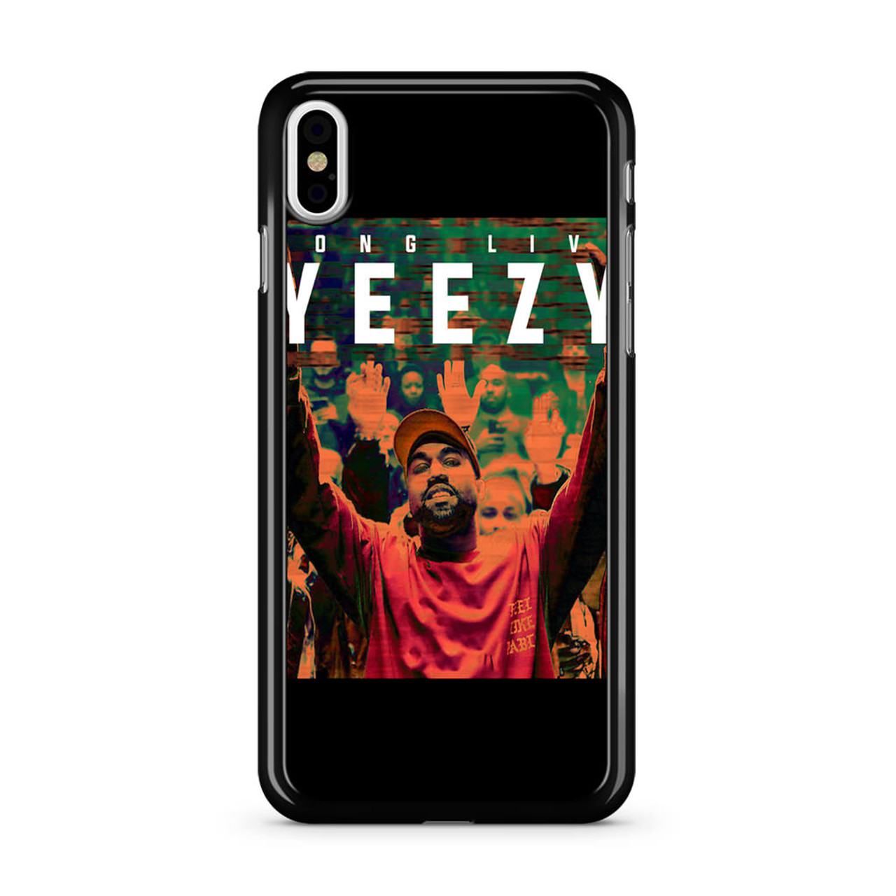 818eb9d3b49ade Kanye West Yeezy iPhone XS Max Case - Jocases