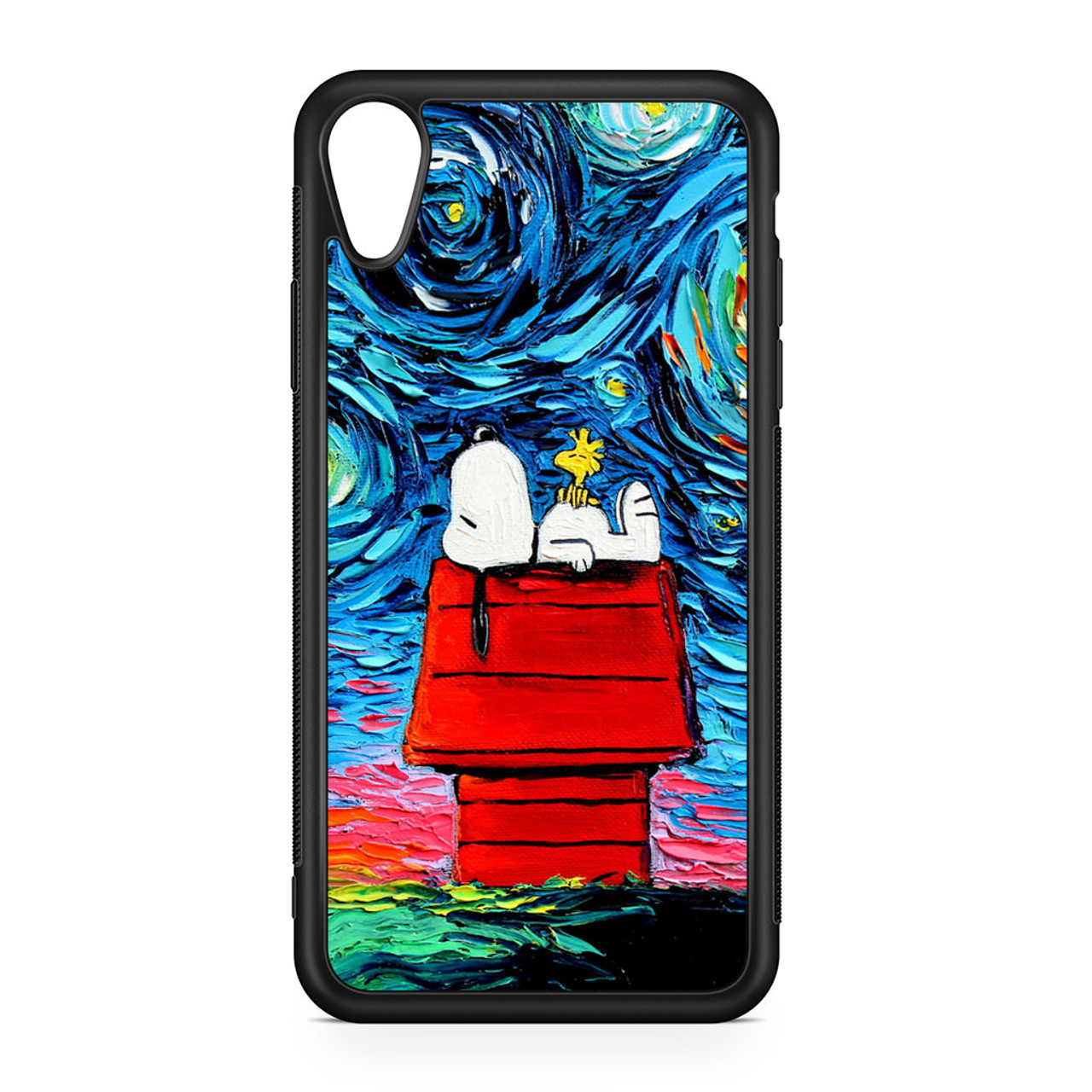 snoopy iphone xr case