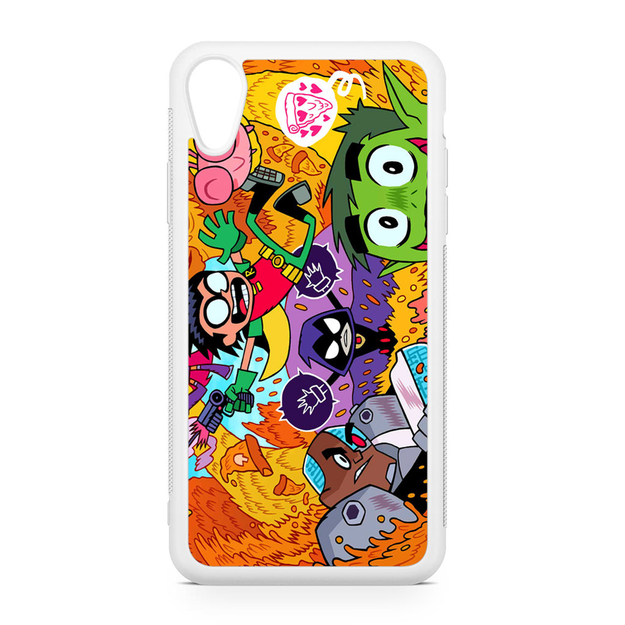 teen titans go color 2 iphone case