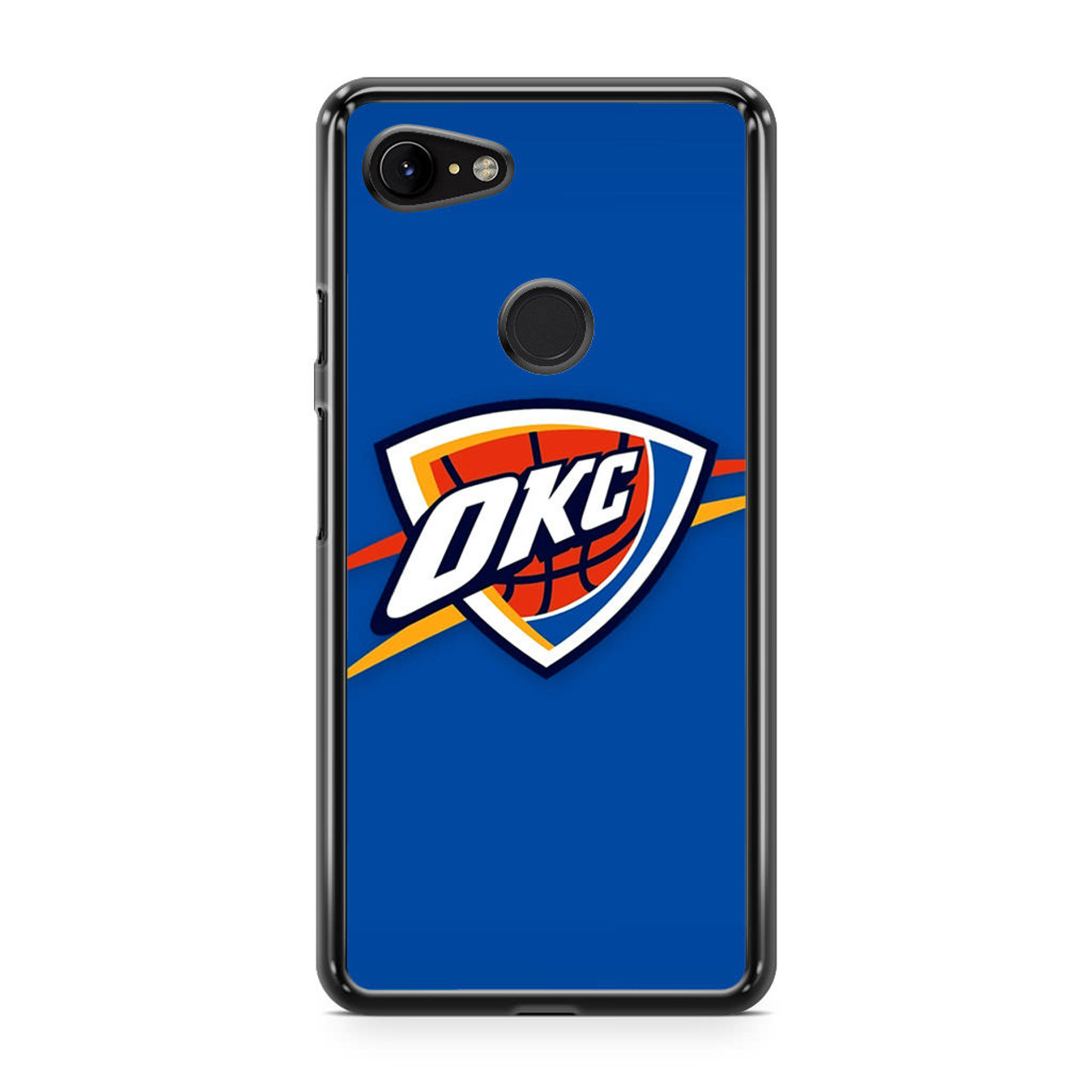 premium selection 69e74 1c946 Oklahoma City Thunder Logo Nba Google Pixel 3 XL Case