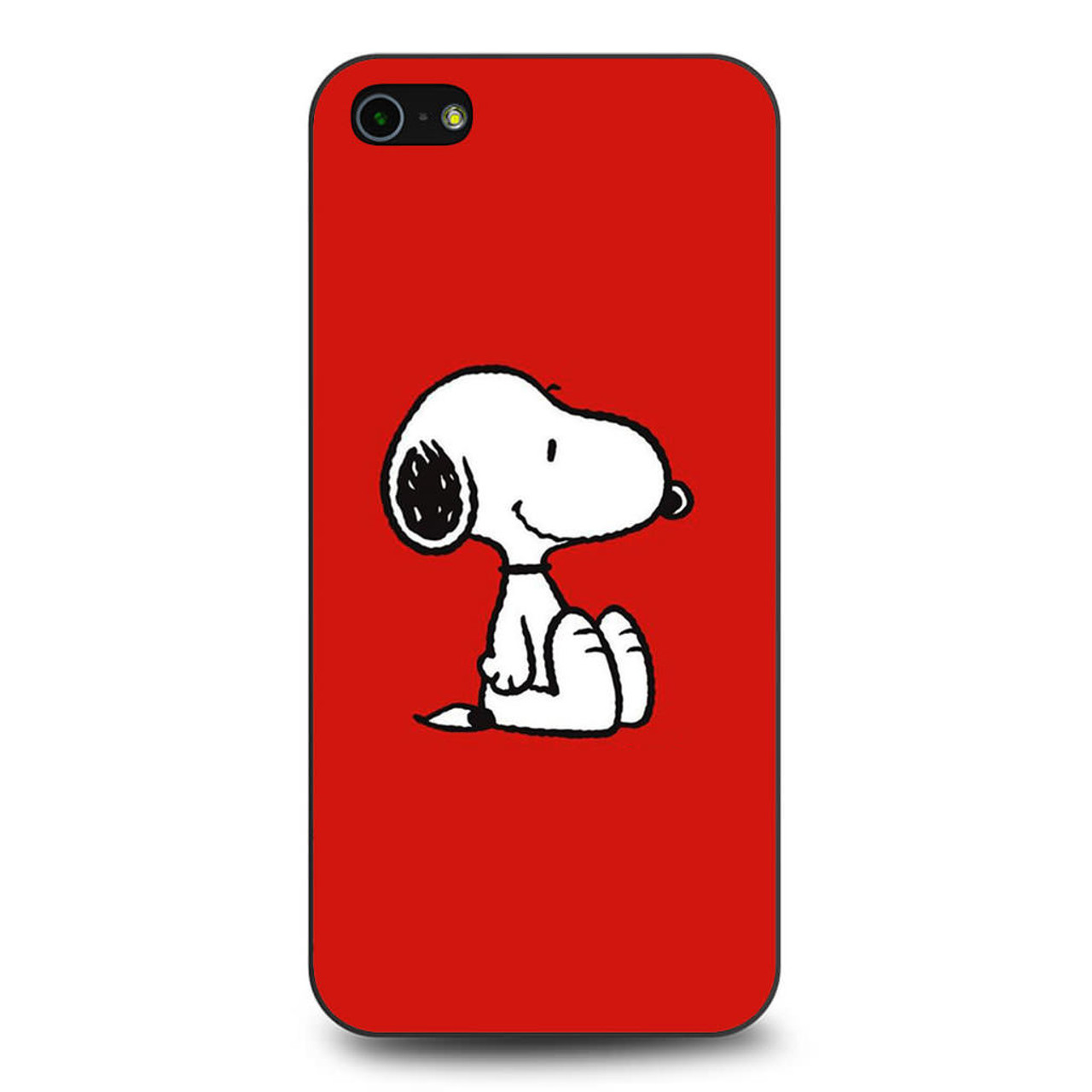 buy online ce11d 40911 Snoopy Red iPhone 5/5S/SE Case