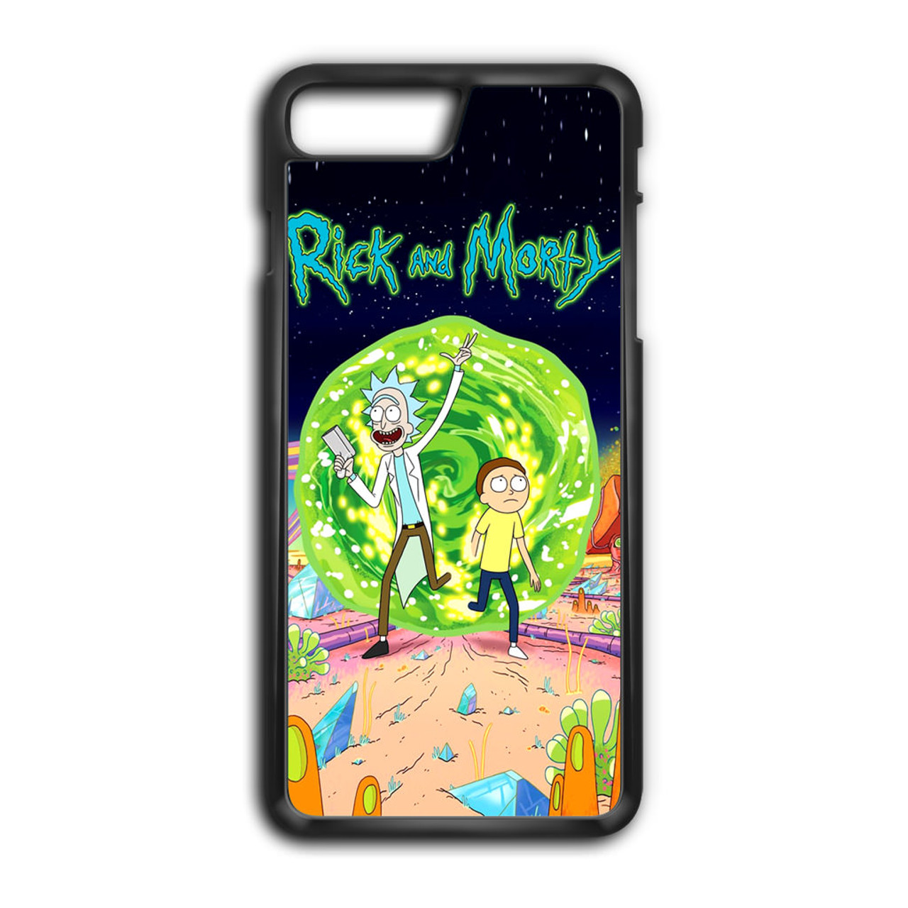 reputable site ee8cd 1dde5 Rick and Morty Poster iPhone 7 Plus Case