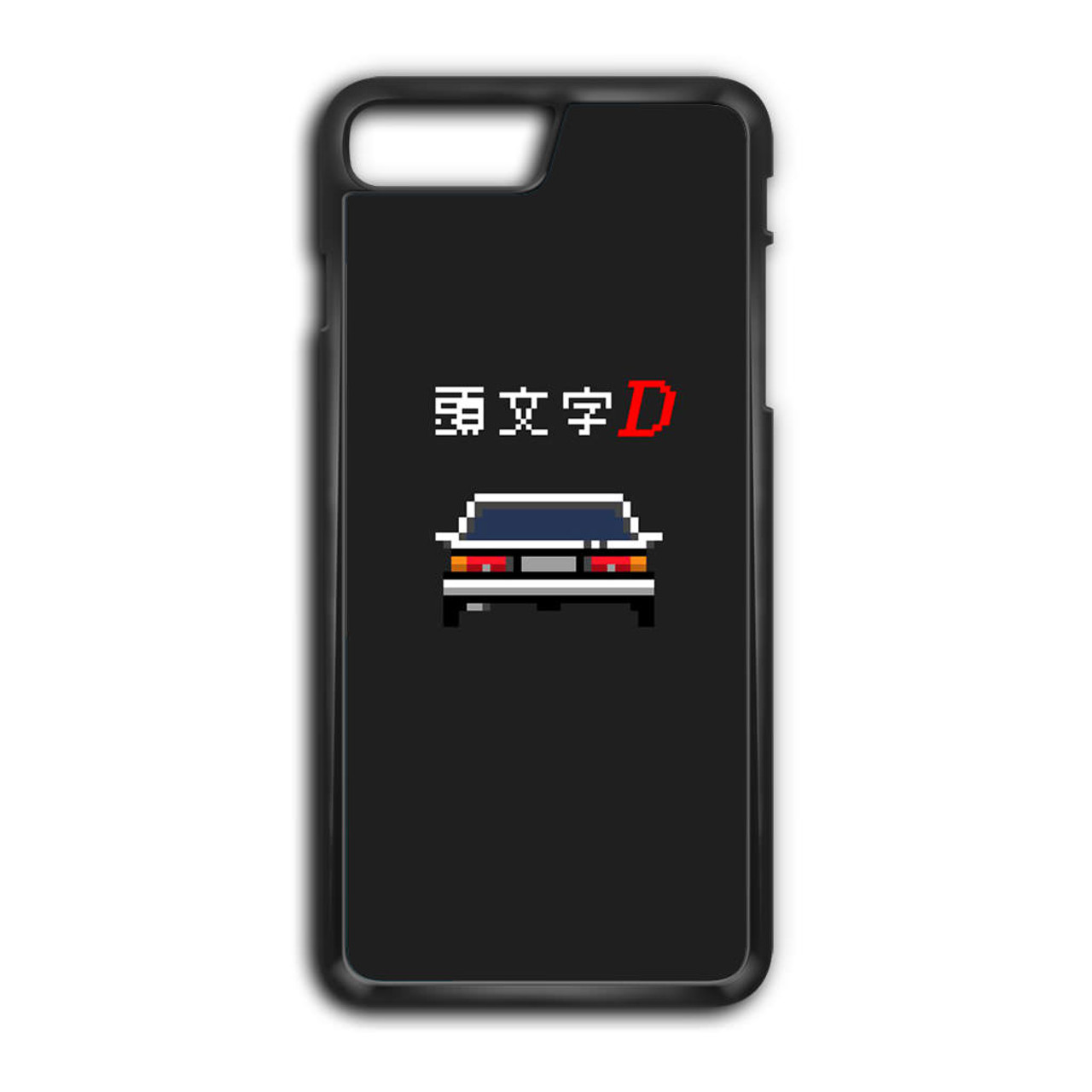 size 40 98864 429c9 Initial D Pixel Art iPhone 7 Plus Case