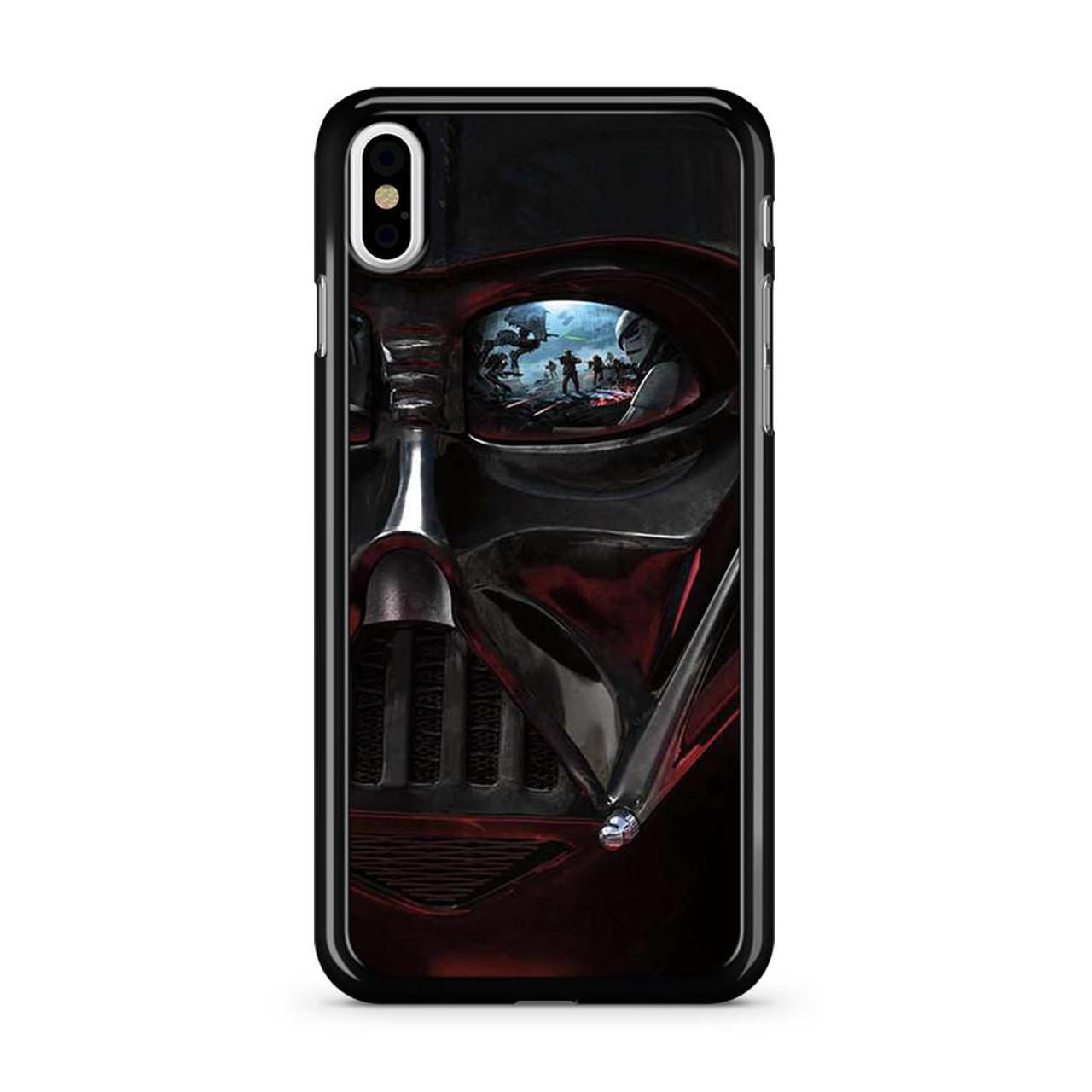 new style f50da 012ee Star Wars Darth Vader Eye iPhone X Case