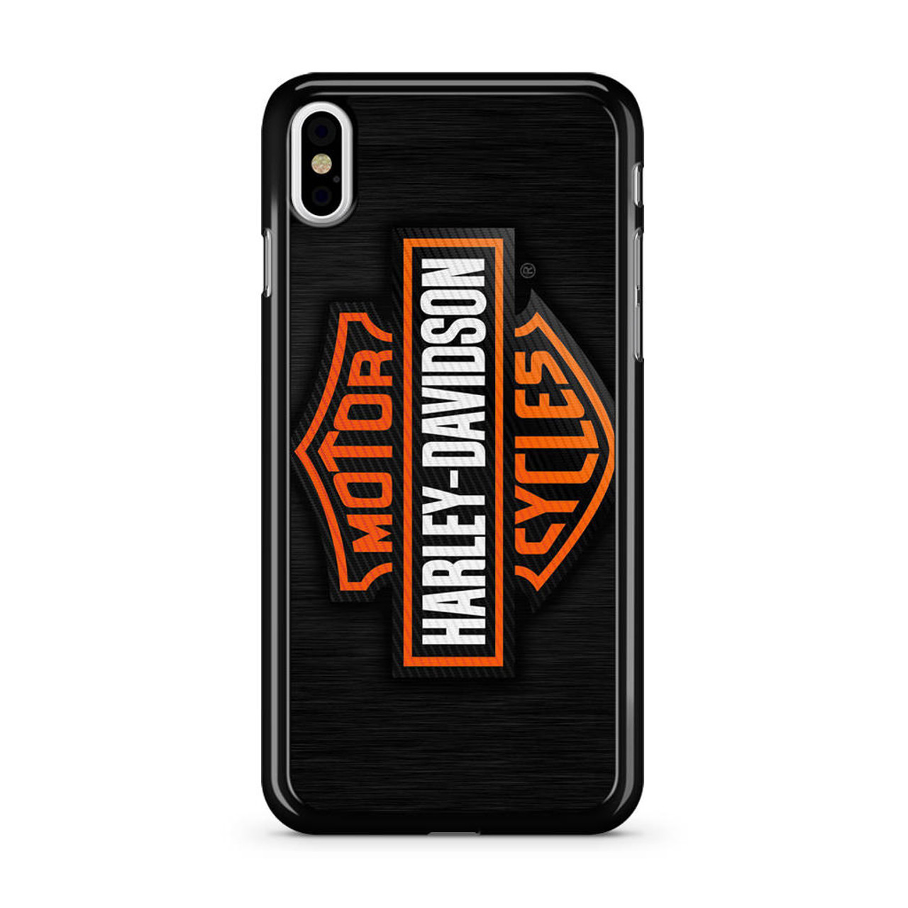 lowest price c8e52 63256 Motor Harley Davidson Logo iPhone X Case