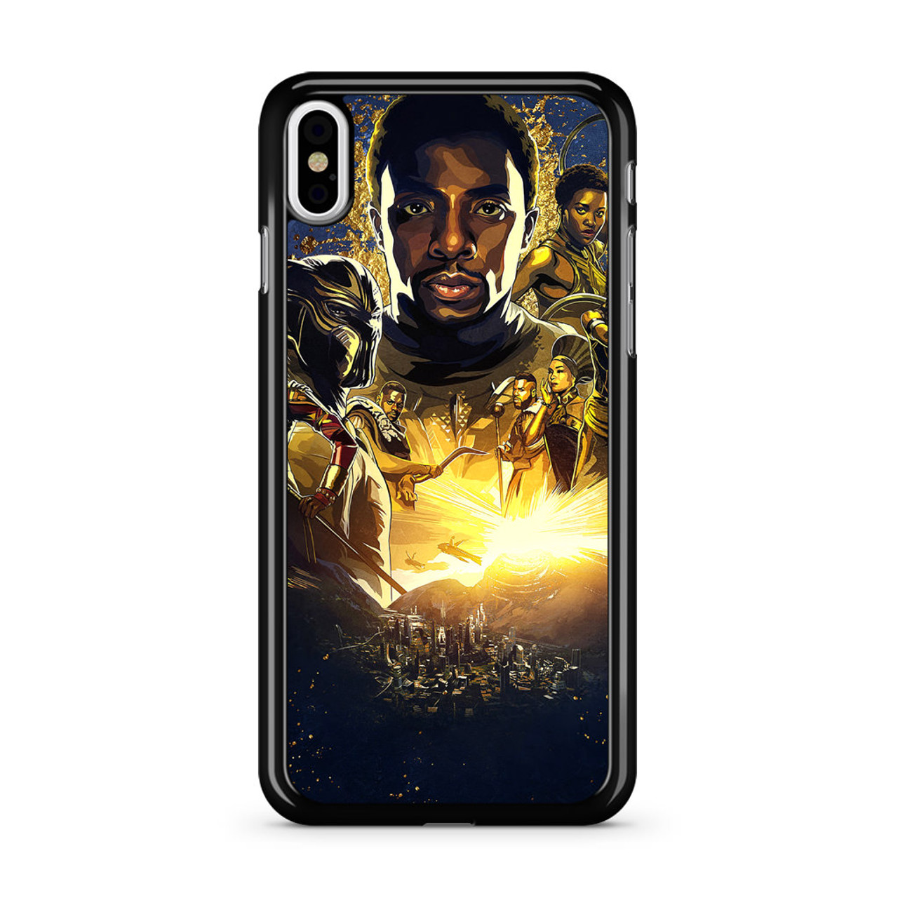 best sneakers 63974 e3395 Black Panther iPhone X Case