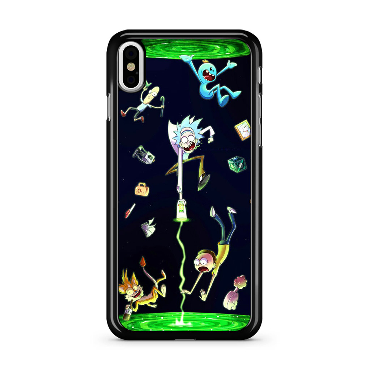 new concept 470d7 f2a7d Rick And Morty Fan Art iPhone X Case