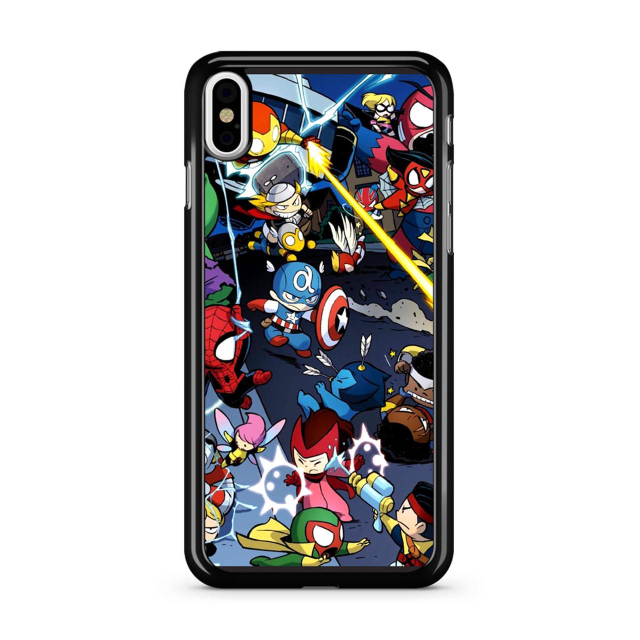 best sneakers 61756 d392f Tsum Tsum Marvel War iPhone X Case