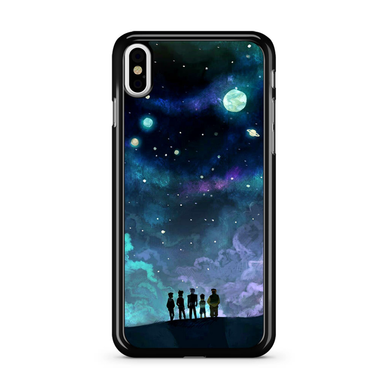 new concept 8f42c 2fce1 Voltron in Space Nebula iPhone X Case