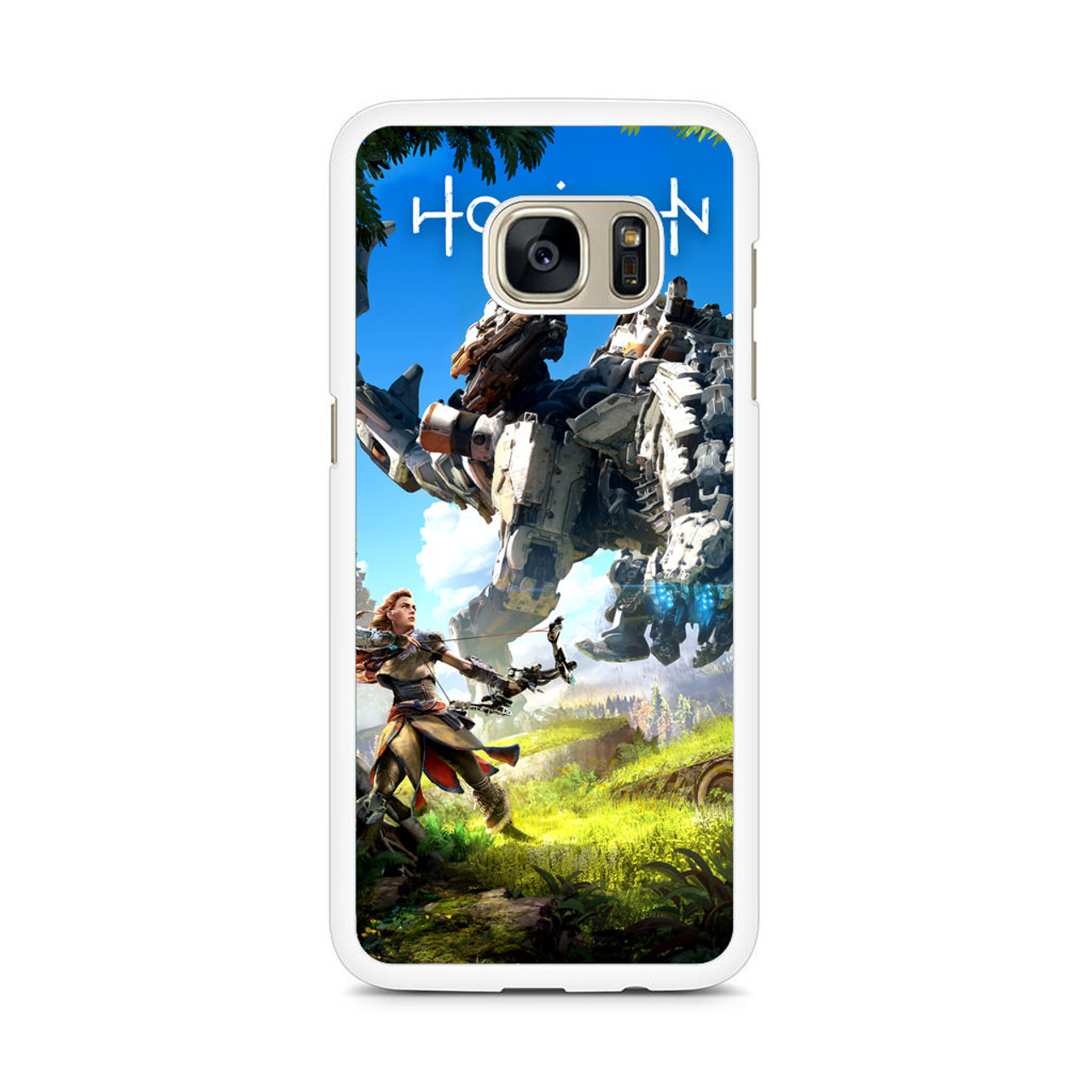 Horizon Zero Dawn Wallpaper Samsung Galaxy S7 Edge Case Jocases