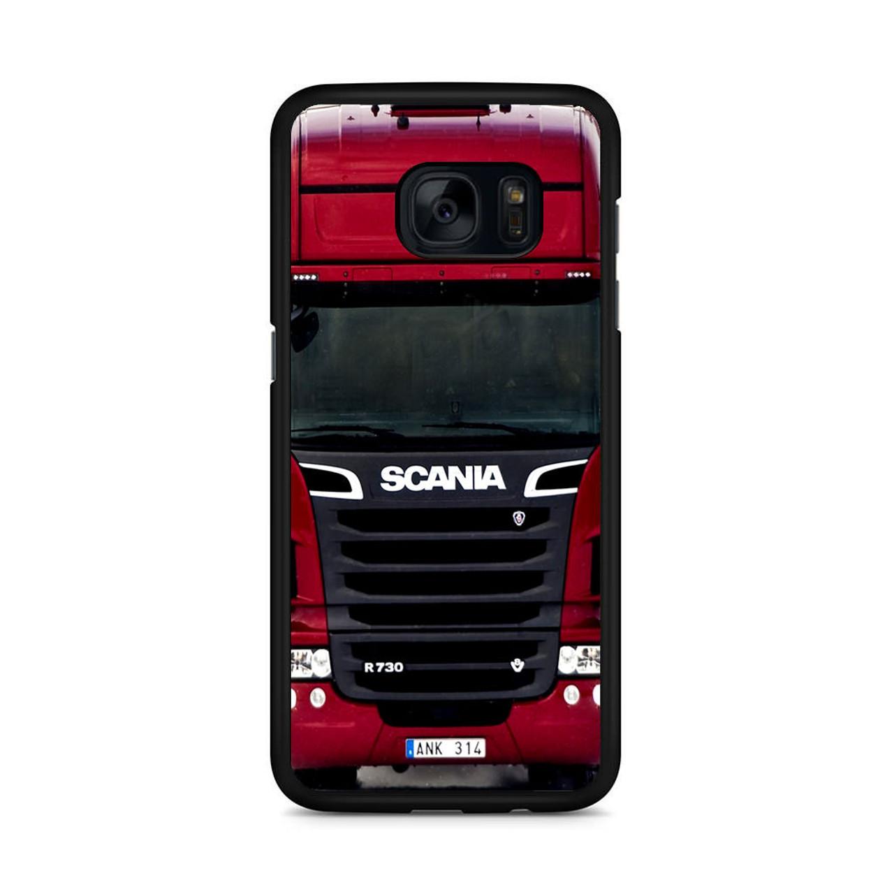 Truck Edge Mobile >> Scania Truck Samsung Galaxy S7 Edge Case