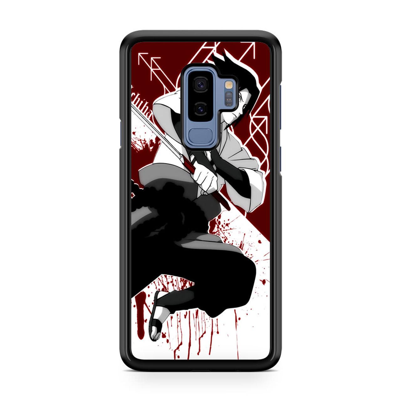 purchase cheap d0527 236fa Anime Naruto Sasuke Uchiha Samsung Galaxy S9 Plus Case