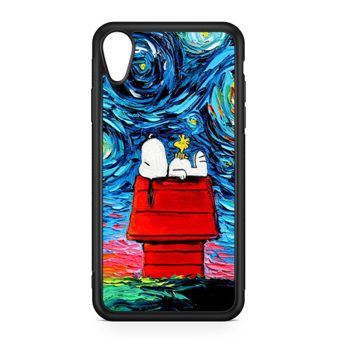 Snoopy Starry Night 2 iphone case