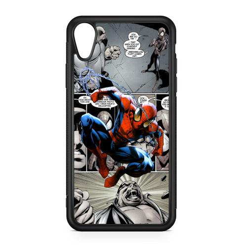 Spiderman Comics Wallpaper Iphone Xr Case