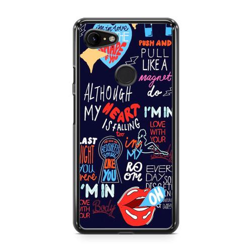 Shape Of You Lyrics Google Pixel 2 XL Case