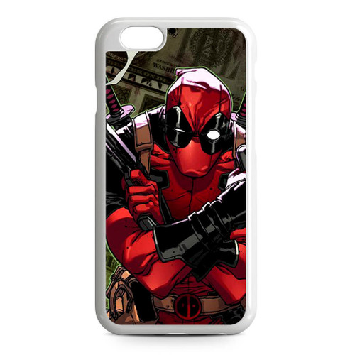 quality design 25f79 76ae2 Comics Deadpool Moneyshot iPhone 6/6S Case