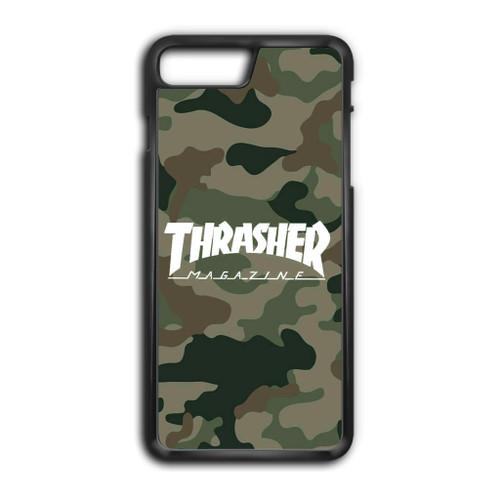 new arrival 41000 703df Thrasher Magazine Bape Camo iPhone 8 Case - Jocases