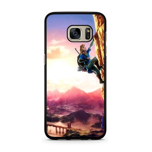lowest price 8003f 5c6df Zelda Climbing Samsung Galaxy S7 Case