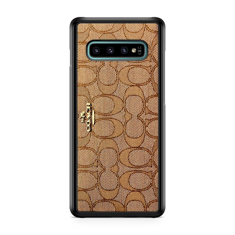 Coach Wallet Samsung Galaxy S10 Case