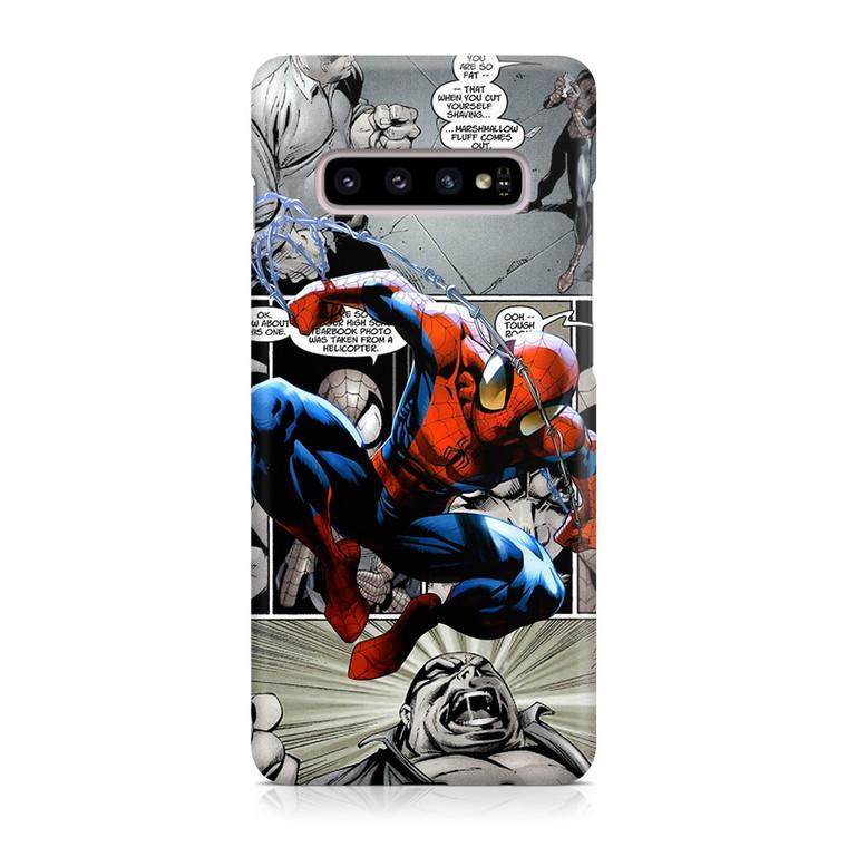 Spiderman Comics Wallpaper Samsung Galaxy S10 Case Jocases