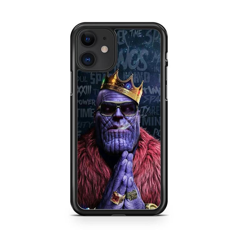 Avengers Infinity War Thanos Hip Hop iPhone 11 Case