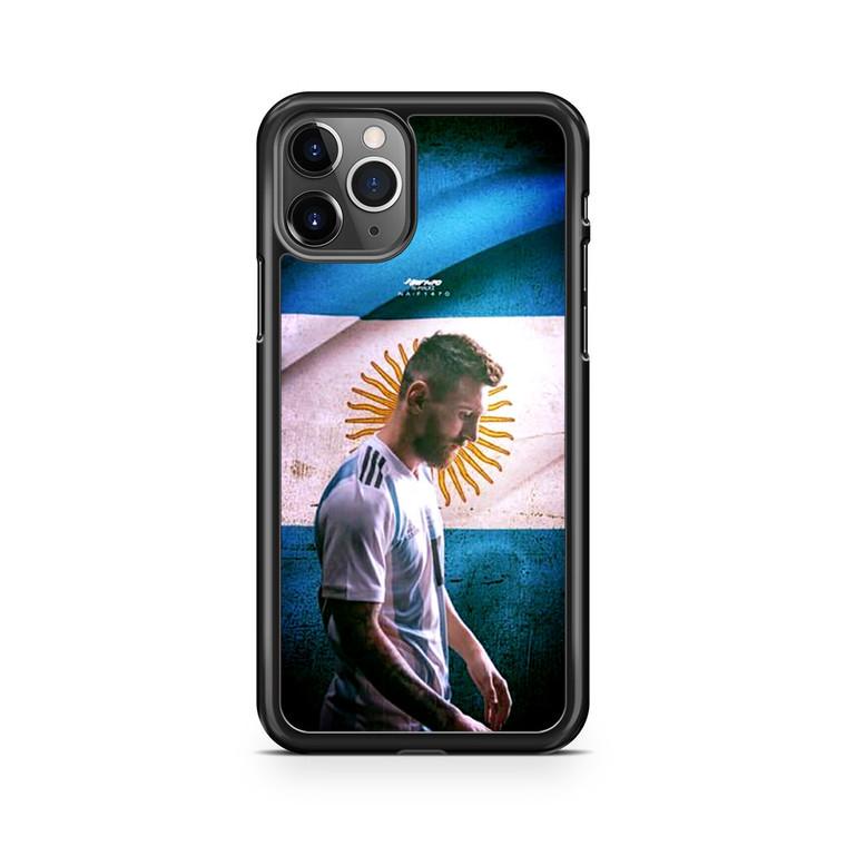 Lionel Messi Argentina Team iPhone 11 Pro Max Case