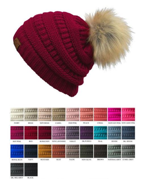 Fur Pom CC Beanie · Fur Pom CC Beanie ... 4f33d3731e4