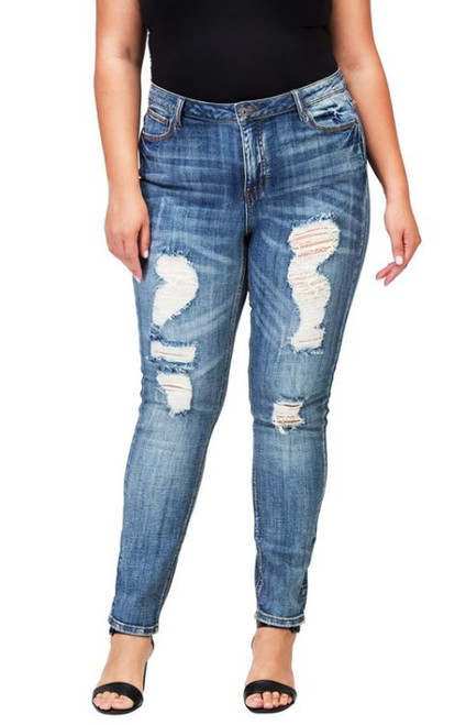 17a329173c5 Women s Plus - Plus Bottoms - Plus Jeans - Early Bird Boutique