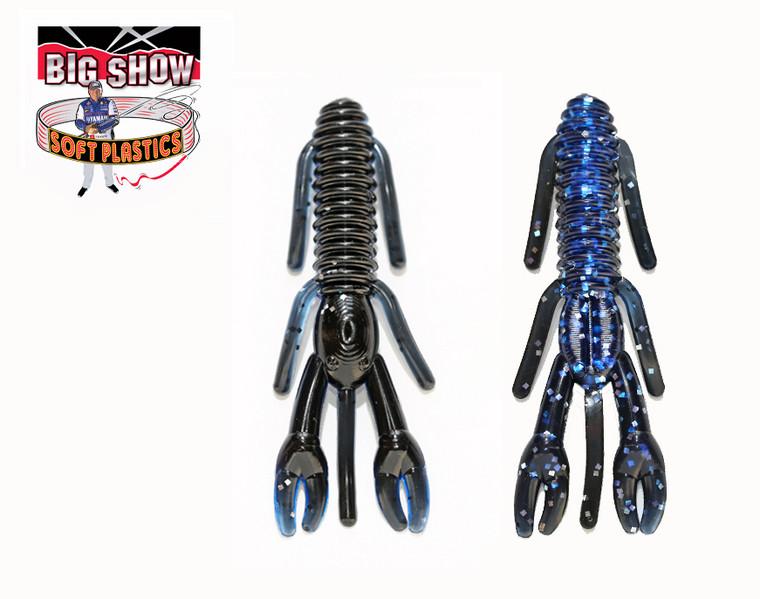 """3.25"""" PUNCH BUG - Black/ Blue / silver flk - (8 Pack)"""