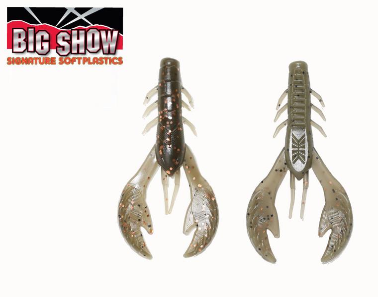"3.5"" Money Bug Craw - Copper Shrimp (8Pack)"