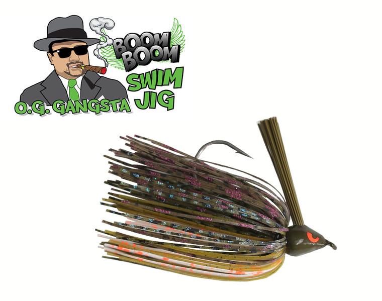 GANGSTA SWIM JIG - B.B. GILL  3/8 OZ