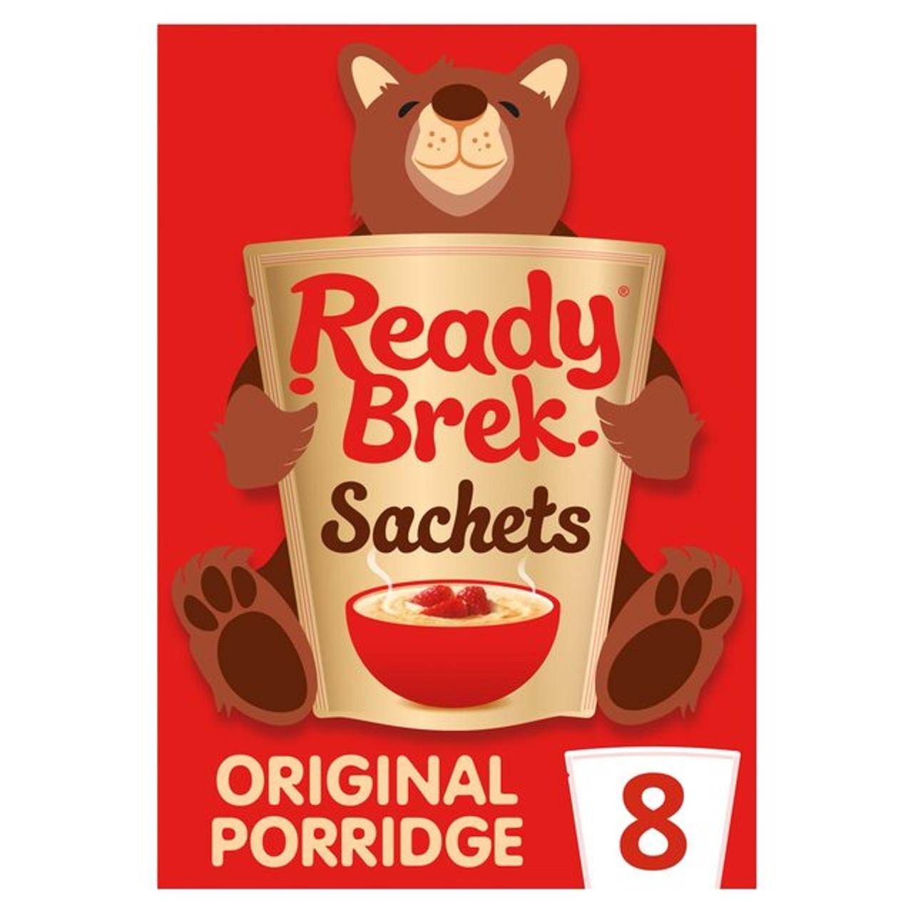 Ready Brek Sachets 8 X 30g