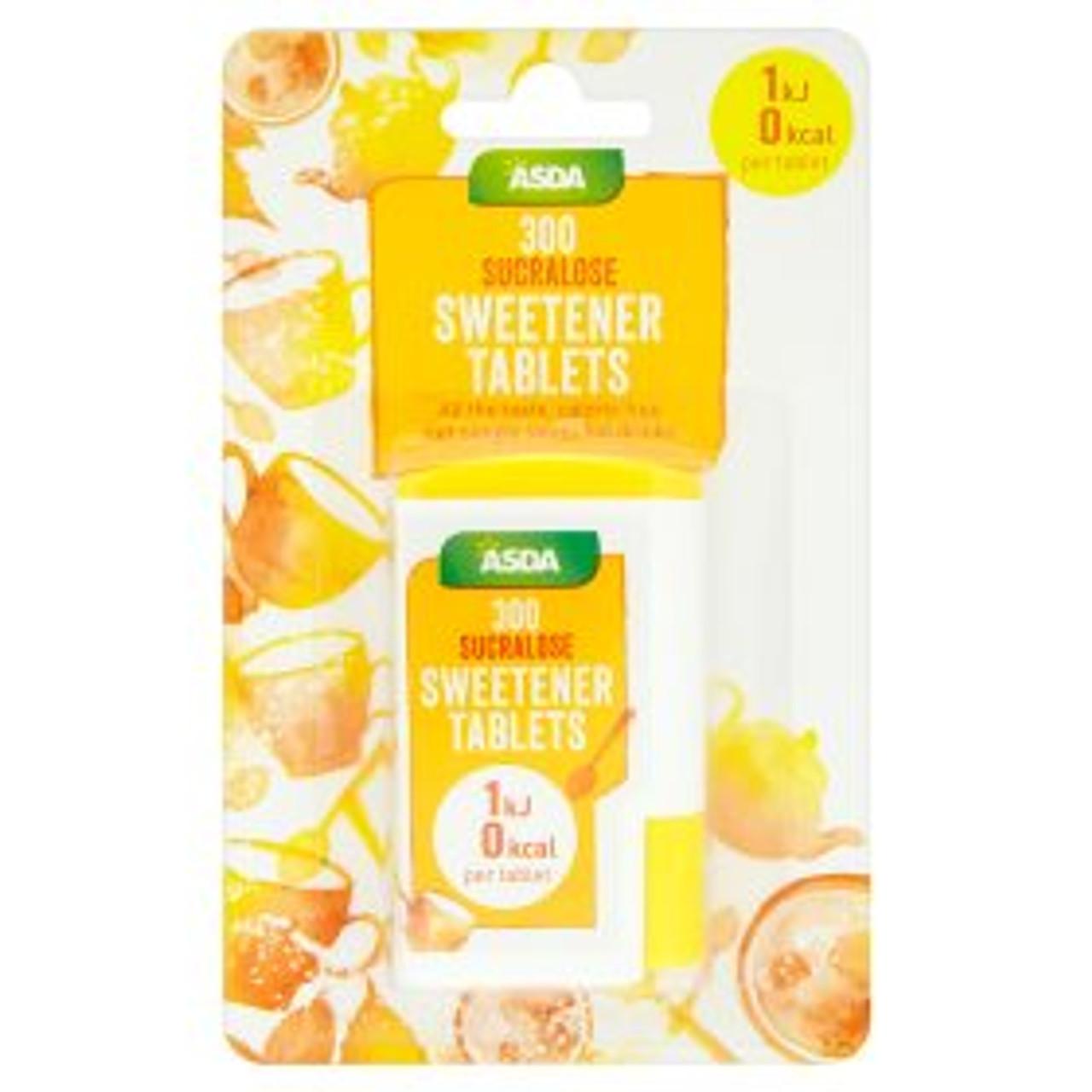 Asda Low Calorie Sweetener Tablets 300pk