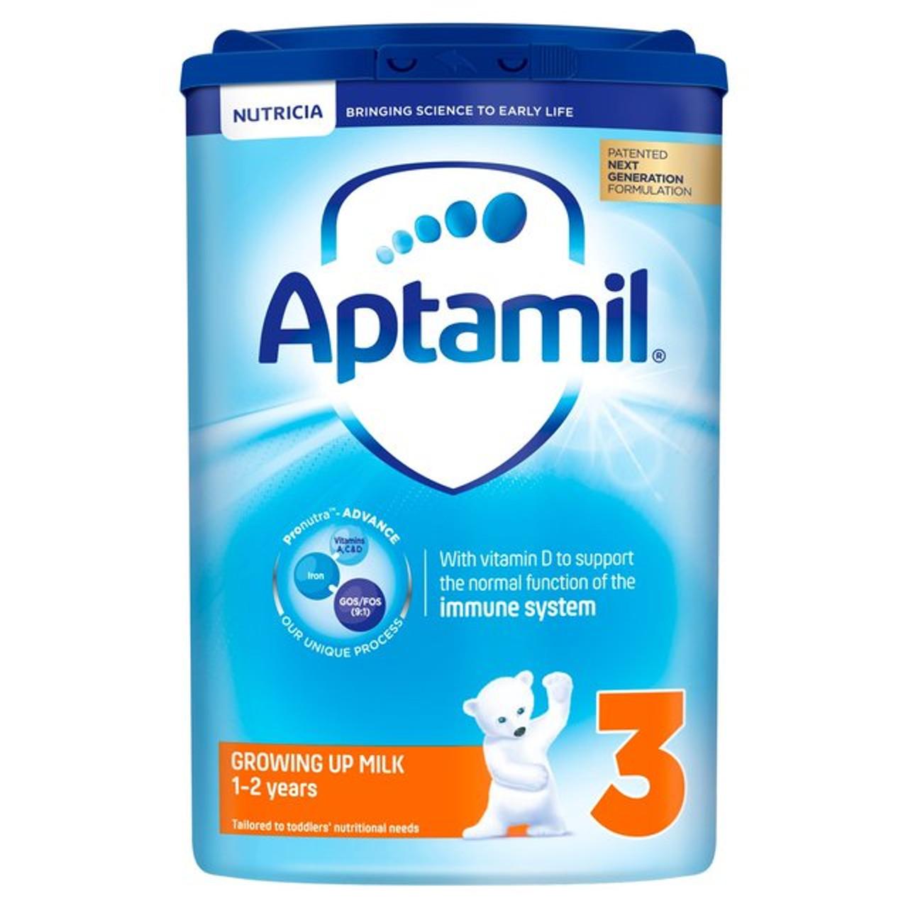 Aptamil 3 Growing Up 1 to 2 yrs Milk Baby Formula 800g